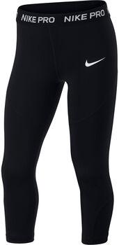 Nike Pro kids capri Meisjes Zwart
