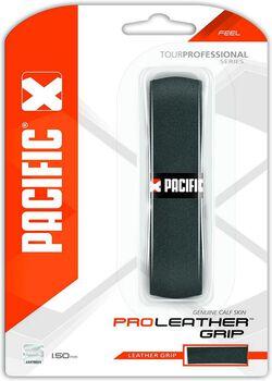 Pacific Pro Leder 1.50mm basis tennisgrip Zwart