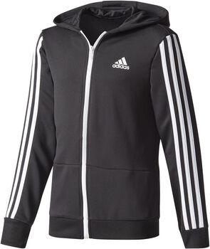 adidas Training Gear Up jr rits hoodie Jongens Zwart