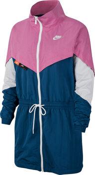 Nike Sportswear Woven trainingsjack Dames Rood