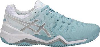 Asics GEL-Resolution 7 Clay tennisschoenen Dames Blauw