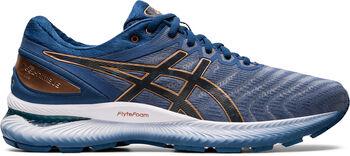 Asics GEL-Nimbus 22 hardloopschoenen Heren Blauw