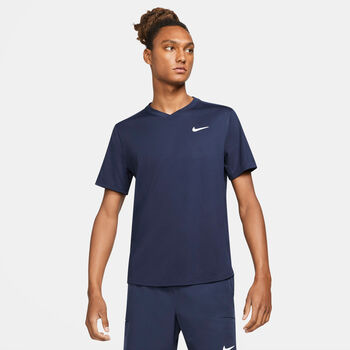 NikeCourt Dri-FIT Victory top Heren Blauw