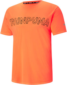 Puma Run Logo shirt Heren Oranje
