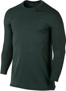 Nike Pro Hyperwarm longleeve Heren Groen