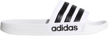 adidas Cloudfoam adilette slippers Wit
