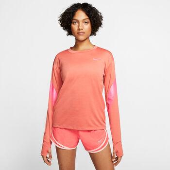Nike Running longsleeve Dames Bruin