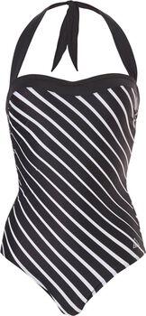 Tweka Strapless Soft Cup badpak Dames Zwart