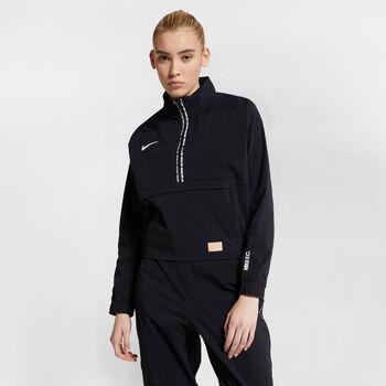 Nike Dry FC hoodie Dames Zwart