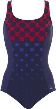 Tweka Soft Cup Powernet zwempak Dames Blauw