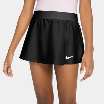 Nike Court Victory tennisrokje Meisjes Zwart