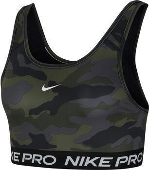 Nike Pro Swoosh sportbeha Dames Zwart