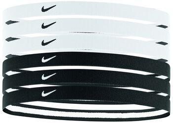 Nike Swoosh 6-pack haarbandjes Zwart