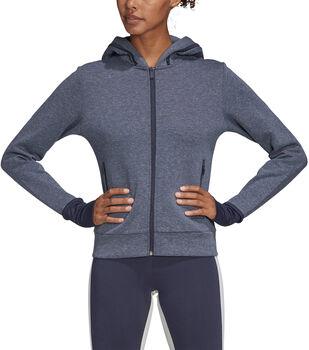 ADIDAS Must Haves Versatility hoodie Dames Blauw