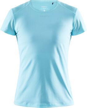 Craft ADV Essence SS Slim Tee W shirt Dames Blauw