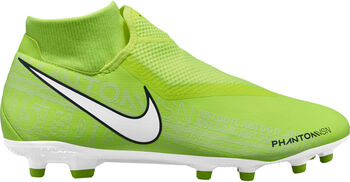 Nike Phantom Vision Academy Dynamic Fit FG/MG voetbalschoenen Heren Geel