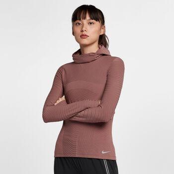 Nike Bala Warm hoodie Dames Paars