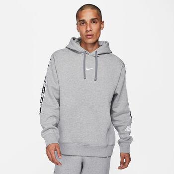Nike Sportswear Repeat hoodie Heren Grijs