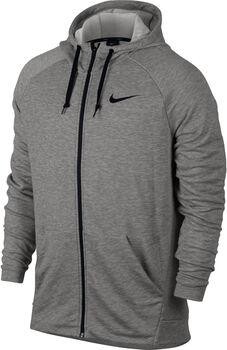 Nike Dry Training hoodie Heren Grijs