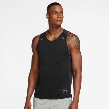 Nike Rise 365 Run Division top Heren Zwart
