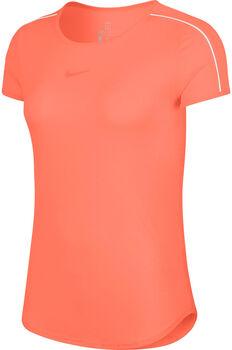 Nike Court Dry shirt Dames Oranje