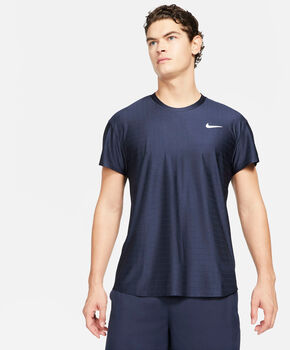 Nike Court Breathe Advantage shirt Heren Blauw