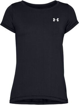 Under Armour HeatGear® Armour t-shirt Dames Zwart