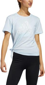 adidas Badge of Sport shirt Dames Blauw