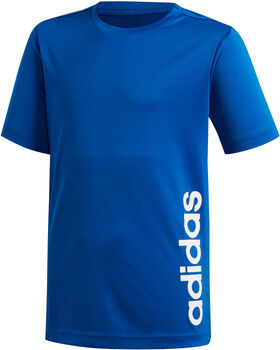 ADIDAS Linear T-shirt Jongens Blauw