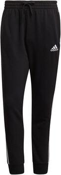 adidas Essentials French Terry Tapered Cuff 3-Stripes Broek Heren Zwart