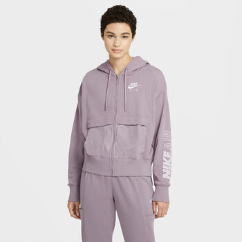 Nike Air Full Zip sweater Dames Roze