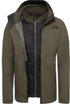 The North Face Arashi II Triclimate jack Heren Groen