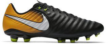 Nike Tiempo Ligera IV FG voetbalschoenen Zwart