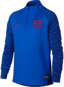 Nike FC Barcolona Dry Strike Drill shirt Jongens Blauw