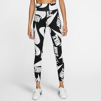 Nike Sportswear Printed legging Dames Zwart