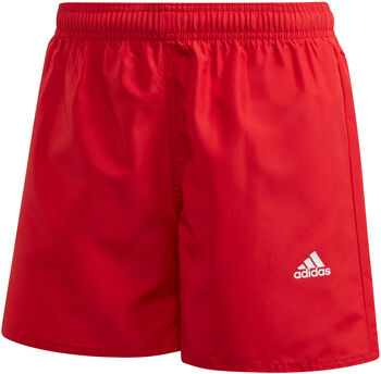 adidas Classic Badge of Sport kids zwemshort  Rood