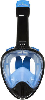 2.0 black/blue l/xl snorkelmasker