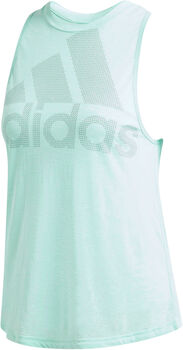 adidas Magic Logo top Dames Groen