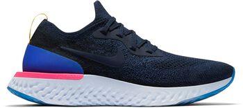 Nike Epic React Flyknit hardloopschoenen Dames Blauw