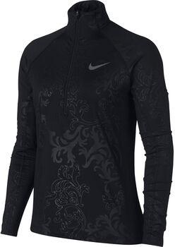 Nike Pro Warm Royal longsleeve Dames Zwart
