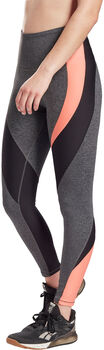 Reebok Lux High-Rise Legging Dames Grijs