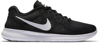 Nike Free RN 2017 hardloopschoenen Dames Zwart