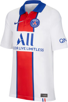 Nike Paris Saint-Germain Stadium kids uitshirt 20/21 Wit