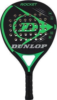 Dunlop Rocket Green padelracket Heren Zwart