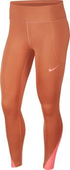 Nike Fast Running tight Dames Bruin