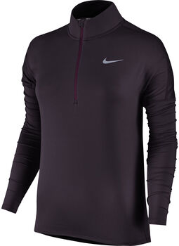 Nike Dry Running longsleeve Dames Paars