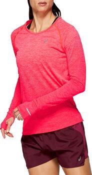 Asics Seamless Texture longsleeve Dames Roze