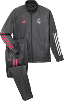 adidas Real Madrid kids trainingspak 20/21 Jongens Grijs