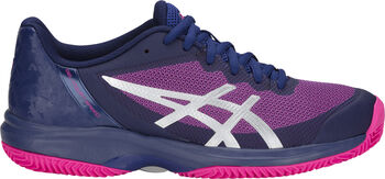 Asics GEL-Court Speed Clay tennisschoenen Dames Blauw