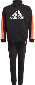 adidas Colorblock Big Badge of Sport Trainingspak Jongens Zwart